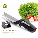 2-in-1 Food Chopper - Replace your Kitchen Knives and Cutting Boards
