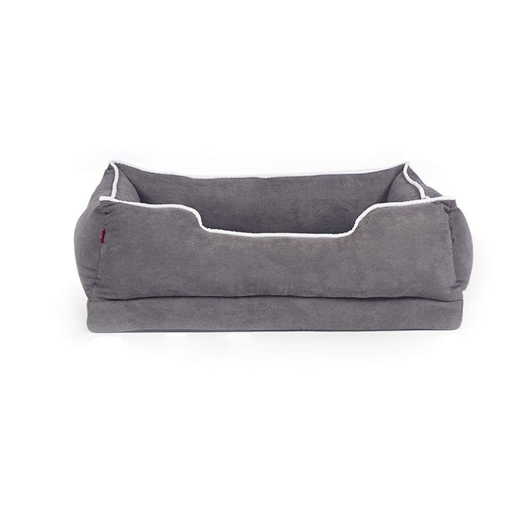BLACK Xl BLACK Xl NYJ Dog Bed Large Super Soft Warm Removable And Washable Small Medium And Large Pets Can Be Washed Pet Supplies Keep Warm (color   BLACK, Size   Xl)