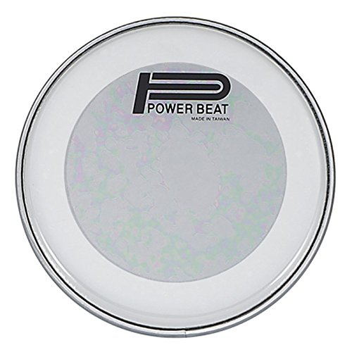 8.75'' Power Beat Drum Head Double Oily Collar /0.5''- For Darbuka/Doumbek (Clear) by Power Beat