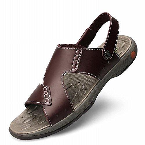 sandali casual pantofole Sandali B uomo di tendenza spiaggia spiaggia da da dimensioni da sandali ZPD scarpe grandi e Oq6wagdq