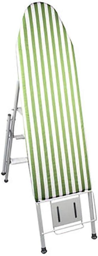 Tabla CE Planchar Plegable Familia con Funda de Algodón Almohadilla de Fieltro Manga Tablero, con Escalera Función (Color : B): Amazon.es: Hogar