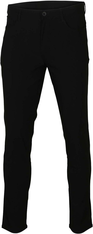 English Laundry Men's Slim Fit Stretch Flat Front Pants