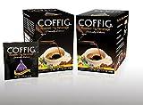 roasted figs - COFFIG Roasted Fig Beverage (pack of 2). Coffee Alternative. Caffeine Free, Gluten Free, & Acid Free