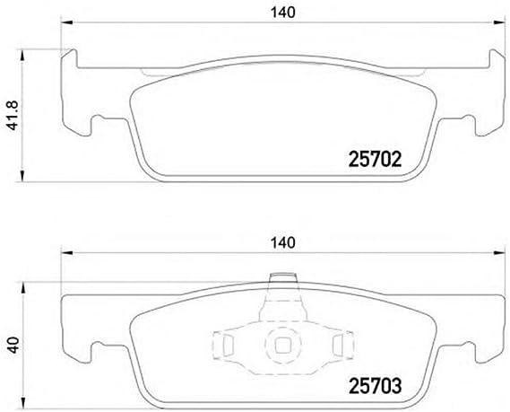 MINTEX MDB3331 Brake Pads Set