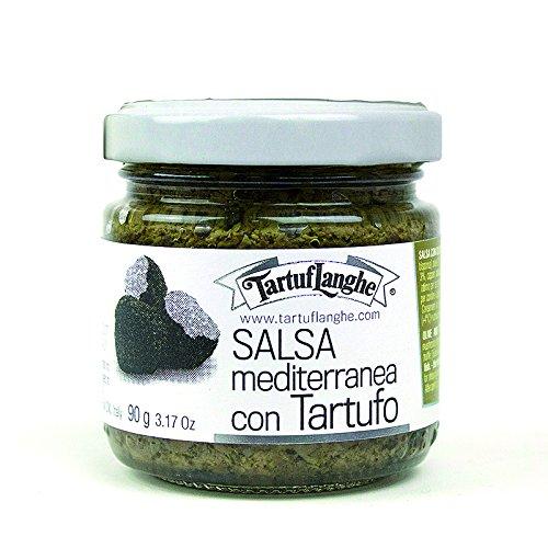 TartufLanghe – Mediterrane saus met truffel 90 g