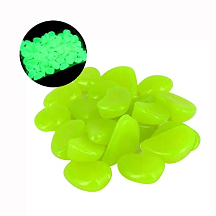 Charmant KingWo 100pcs/bag Gravel For Your Garden Yard Glow In The Dark Pebbles  Stones For