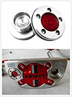 Tangibler Putter Weight,2 of 10g 15g 20g 25g 30g 35g 40g Red Putter Weight for Scotty Cameron Fastback & Squareback
