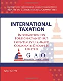 International Taxation, Government Accountability Office, 1492993158