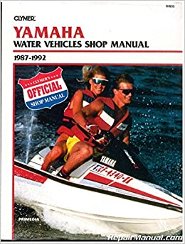 nos w805 1987 1990 yamaha waverunner wavejammer personal watercraft