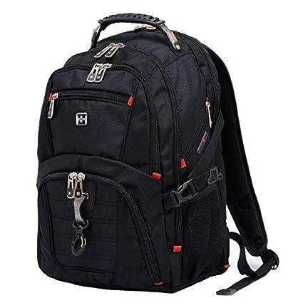 c9f34218d473 PACK Swiss Army Knife Shoulder Bag Backpack Travel Bag 15.6 Inch 17 ...