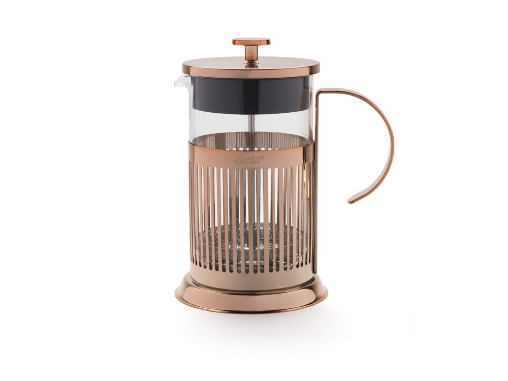 Leopold Vienna lv01519/cafetera de /émbolo Cobre 800/ML