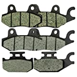 #9: Foreverun Motor Front and Rear Brake Pads for Yamaha YXR 660 YXR660 Rhino 2004-2007