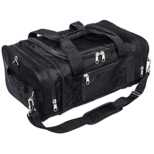 north-star-sports-1050-tuff-cloth-flight-carry-on-luggage-bag-black-21-x-14-x-9