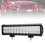 Liteway 12Inch 120W 12000LM CREE LED Light Bar Spot Flood Combo Work Light