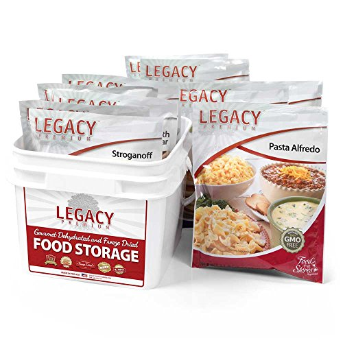 32 Serving Family 72 Hour Emergency Food Supply Kit - 9 lbs - Disaster Relief - Survival Preparedness Supplies - Dehydrated/Freeze Dried Food Storage