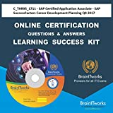 C_THR95_1711 - SAP Certified Application Associate - SAP SuccessFactors Career Development Planning Q4/2017 Online Certification Video Learning Made...