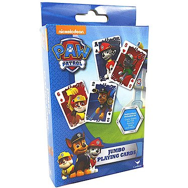 Paw Patrol Jumbo Playing Cards (Kids Easter Cards compare prices)