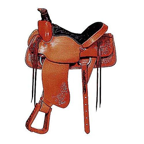 American Saddlery All Around Roper Saddle Chest 16 by ABETTA
