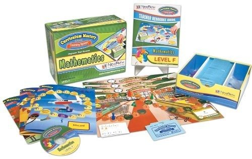 NewPath Learning Math Curriculum Mastery Game, Grade 6, Class Pack