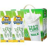 Devondale德运脱脂牛奶礼盒装1L*6(澳大利亚进口)