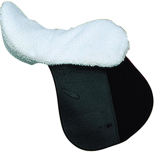 Sattelsitzbezug Sattelbezug Sattel Sitzfell aus Fleece Auflage für Reitsattel