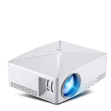 DZSF Mini proyector C80 Up, resolución 1280X720, Proyector ...