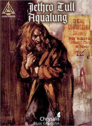 Book JETHRO TULL AQUALUNG (Guitar Recorded Versions) by Jethro Tull (2005-11-01)