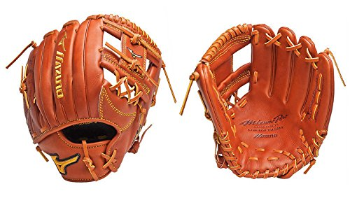 Mizuno GMP500 Pro Limited Edition Baseball Fielder's Mitt (Chestnut, 11.75-Inch, Right Handed Throw)