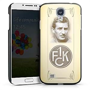 Carcasa Design Funda para Samsung Galaxy S4 i9500 / LTE i9505 HardCase black - Fritz Walter