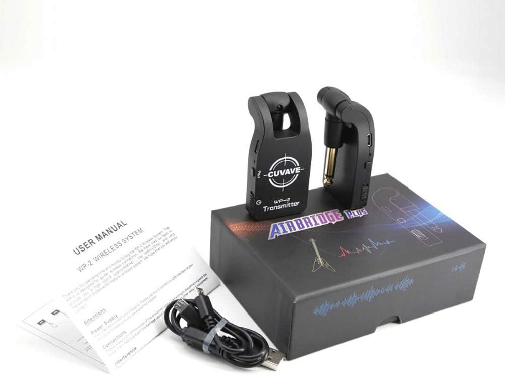 Milnnare CUVAVE WP-2 2.4G Transmisor inalámbrico de Guitarra ...