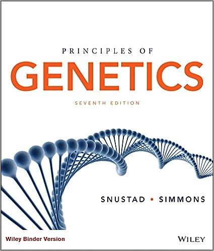 Principles Of Genetics Ebook