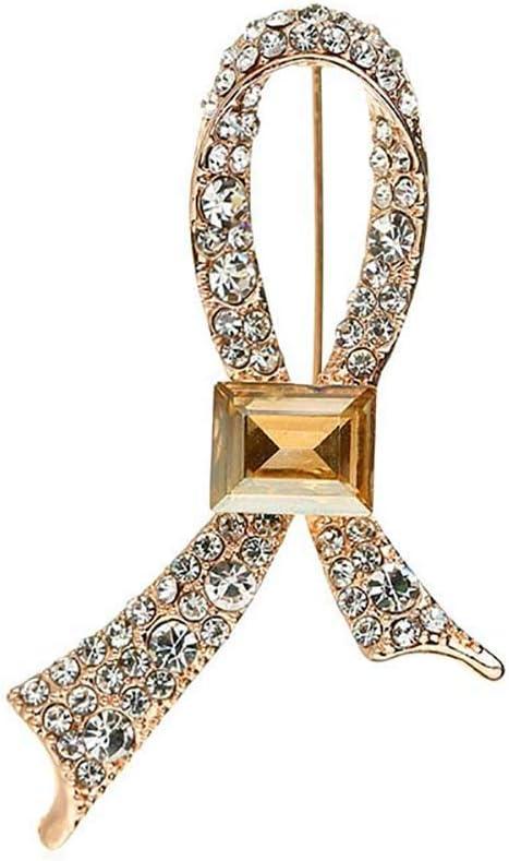 Doitsa 1pcs Broche Perle Fantaisie /Épingles Cristal Bijoux Forme de Cravate pour Femme V/êtement Broches Accessoires 3.1cm 5.5