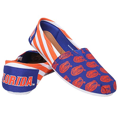 Womens NCAA Canvas Slip-On Shoes, Florida Gators-large