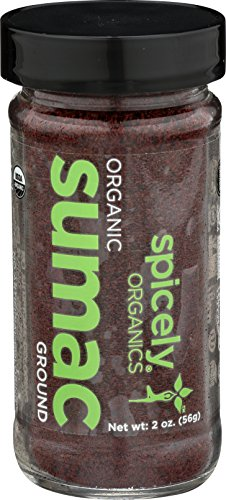 Spicely Organic Sumac Ground 2.00 Ounce Jar Certified Gluten ()