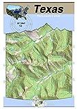 31°104° NE - Guadalupe Peak, Texas Backcountry Atlas (Topo) (Texas Backcountry Atlas A4 25000 Scale)
