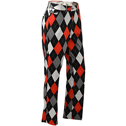 Royal & Awesome Men's Plus Size Golf Pants, Diamonds in The Rough, 42W x 34L]()