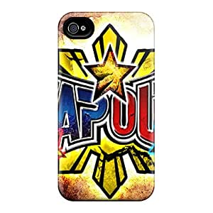 AnnaDubois Iphone 4/4s Bumper Hard Phone Cases Custom Colorful Tapout Pictures [qYs19992eTyk]