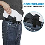 IWB Leather Holster for Concealed Carry, Inside