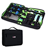 BUBM Portable Universal Electronics Accessories Travel Organizer / Hard Drive Case / Cable Organiser / Baby Healthcare & Grooming Kit-3 Size (Large)