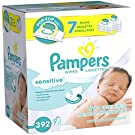 Pampers Sensitive Wipes Pop-Top Packs -  392 CT