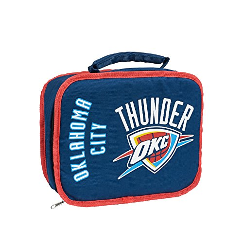 The Northwest Company Officially Licensed NBA Oklahoma City Thunder Sacked Lunch (Oklahoma Bag)