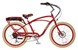 "Pedego Comfort Cruiser 26"" Classic Red with Crème Balloon Package 36V 15Ah"