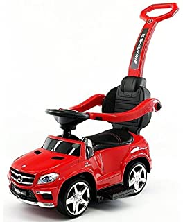 luxury mercedes gl63 kids convertible ride on push car and rocking chair includes leather