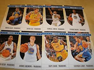 2011-12 Panini NBA Hoops Golden State Warriors Team Set (8 Cards )