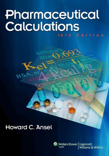 Pharmaceutical Calculations: 1 Pdf