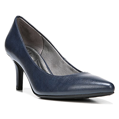 LifeStride Women's Sevyn Dress Pump, Luxe Navy 4,8. M
