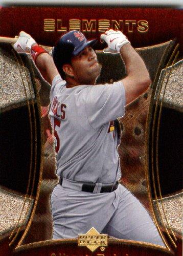 2007 Upper Deck Elements Baseball Card # 78 Albert Pujols St. Louis Cardinals (St Baseball Cards Cardinals Louis)