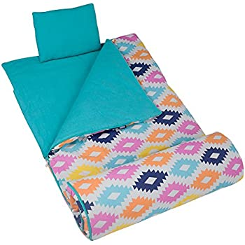 Amazon Com Sleeping Bag And Pillow Cover Blue Tie Dye