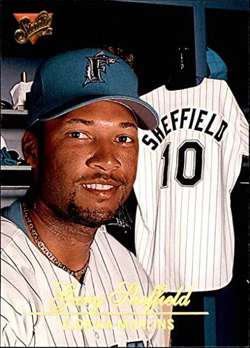 GARY SHEFFIELD FLORIDA MARLINS 1994 Donruss Studio #112 (1994 Donruss Studio)