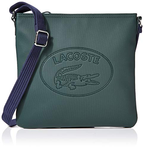 Lacoste - Women's Classic, Shoppers y bolsos de hombro Mujer, Azul (Scarab Peacoat Corn), 2.5x25x26 cm (W x H L)